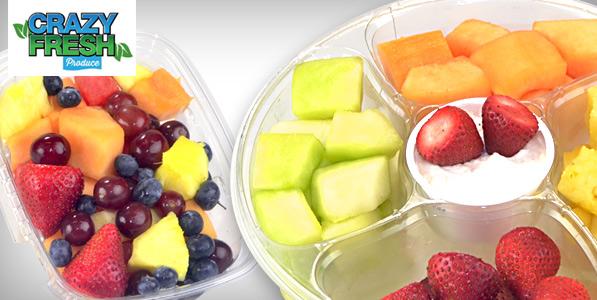 crazy fresh fruit tray