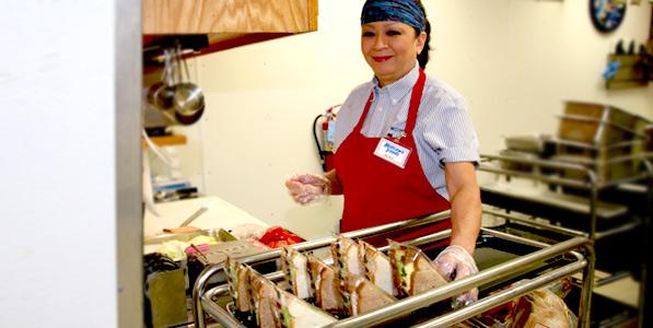 employment making sandwiches