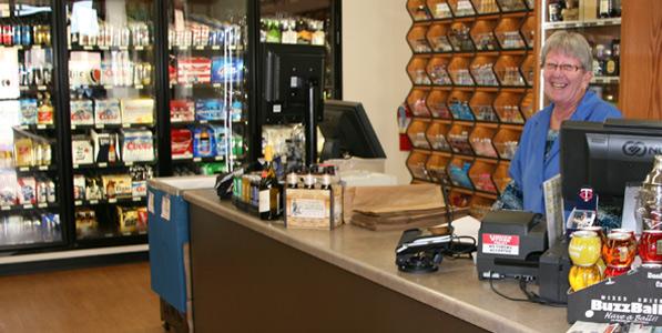 Wine & Spirits cashier